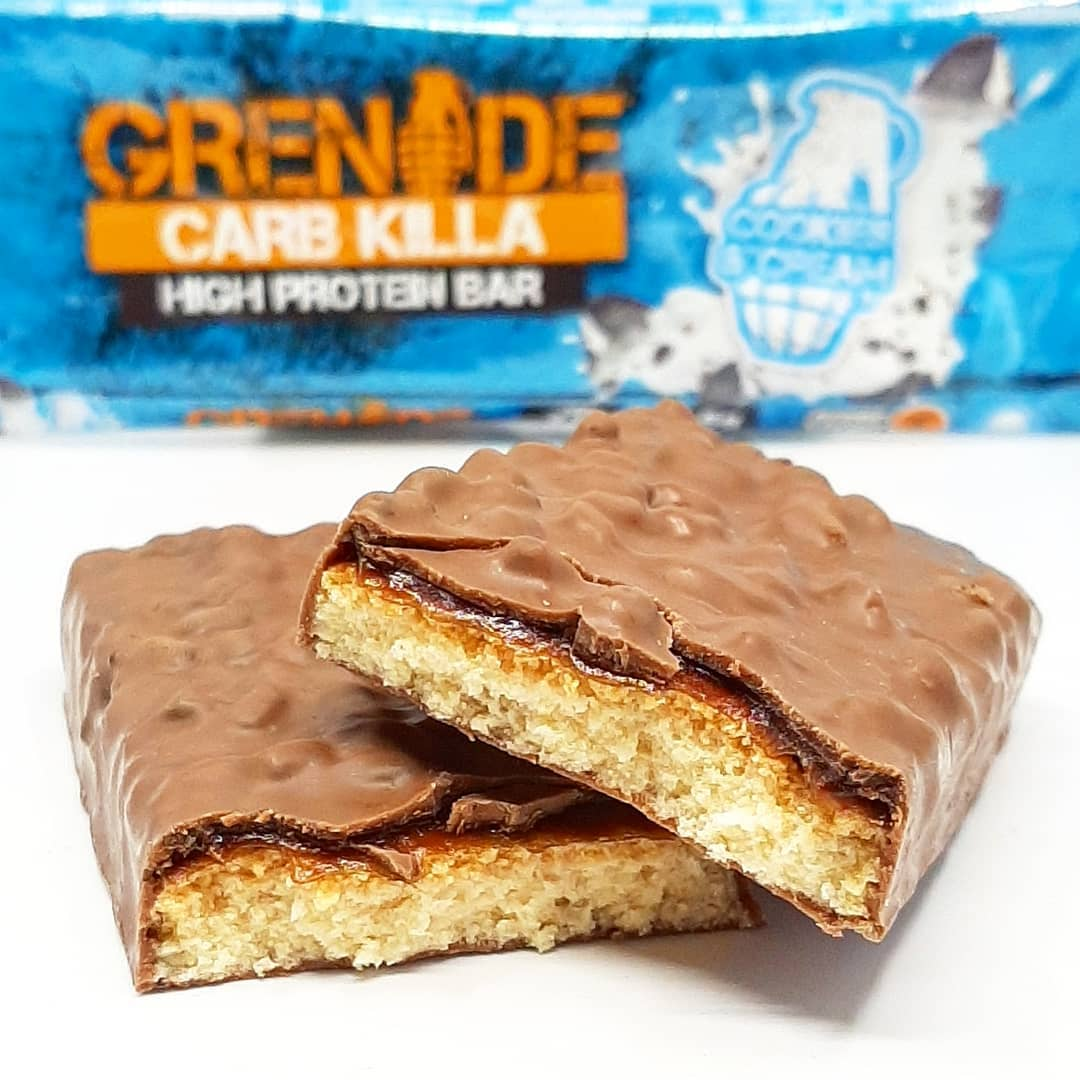 Grenade Carb Killa Cookies & Cream – już siódmy smak!