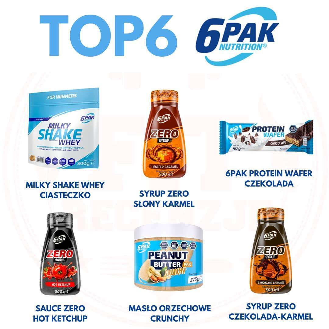 Najlepsze produkty od 6PAK Nutrition – petarda!