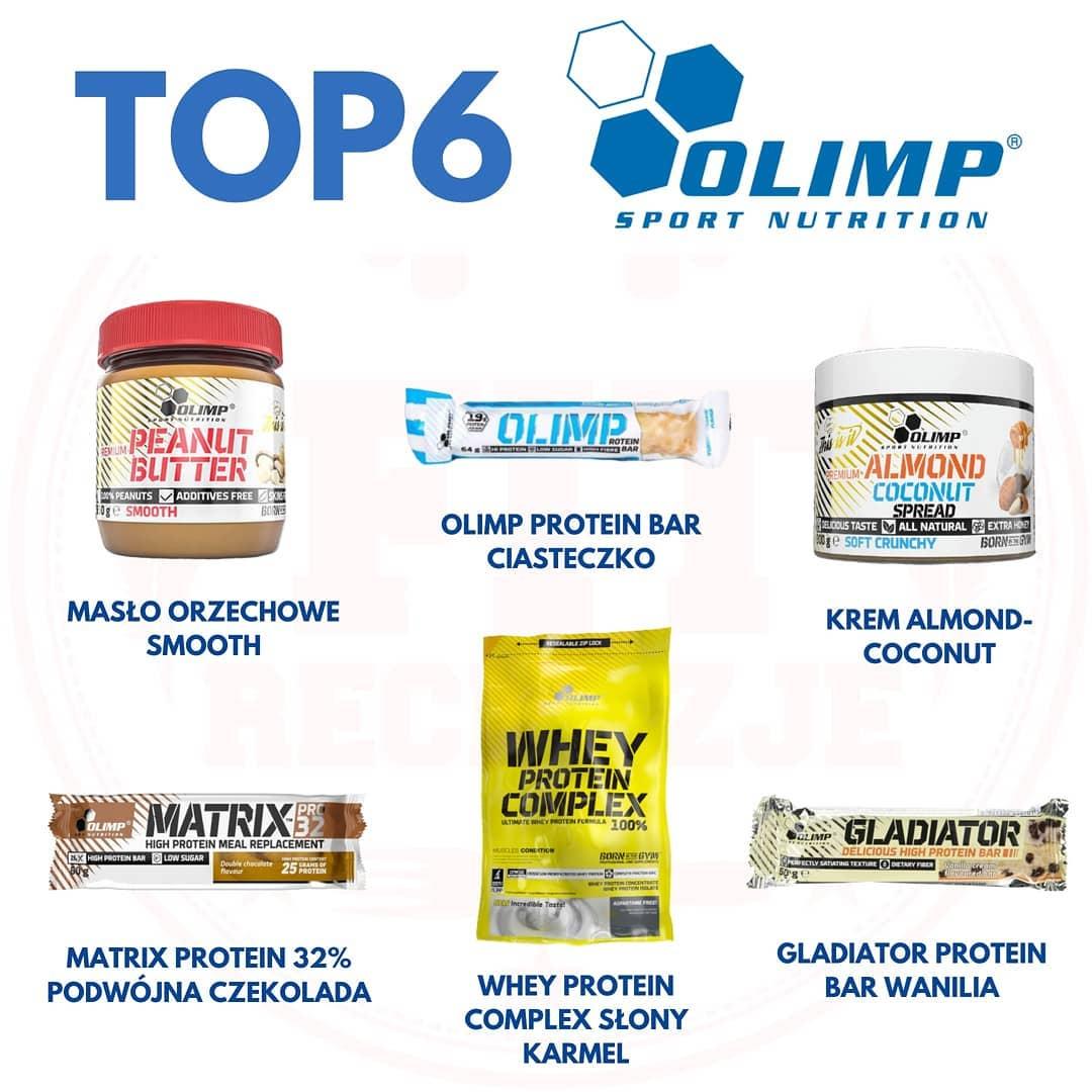 najlepsze produkty od Olimp