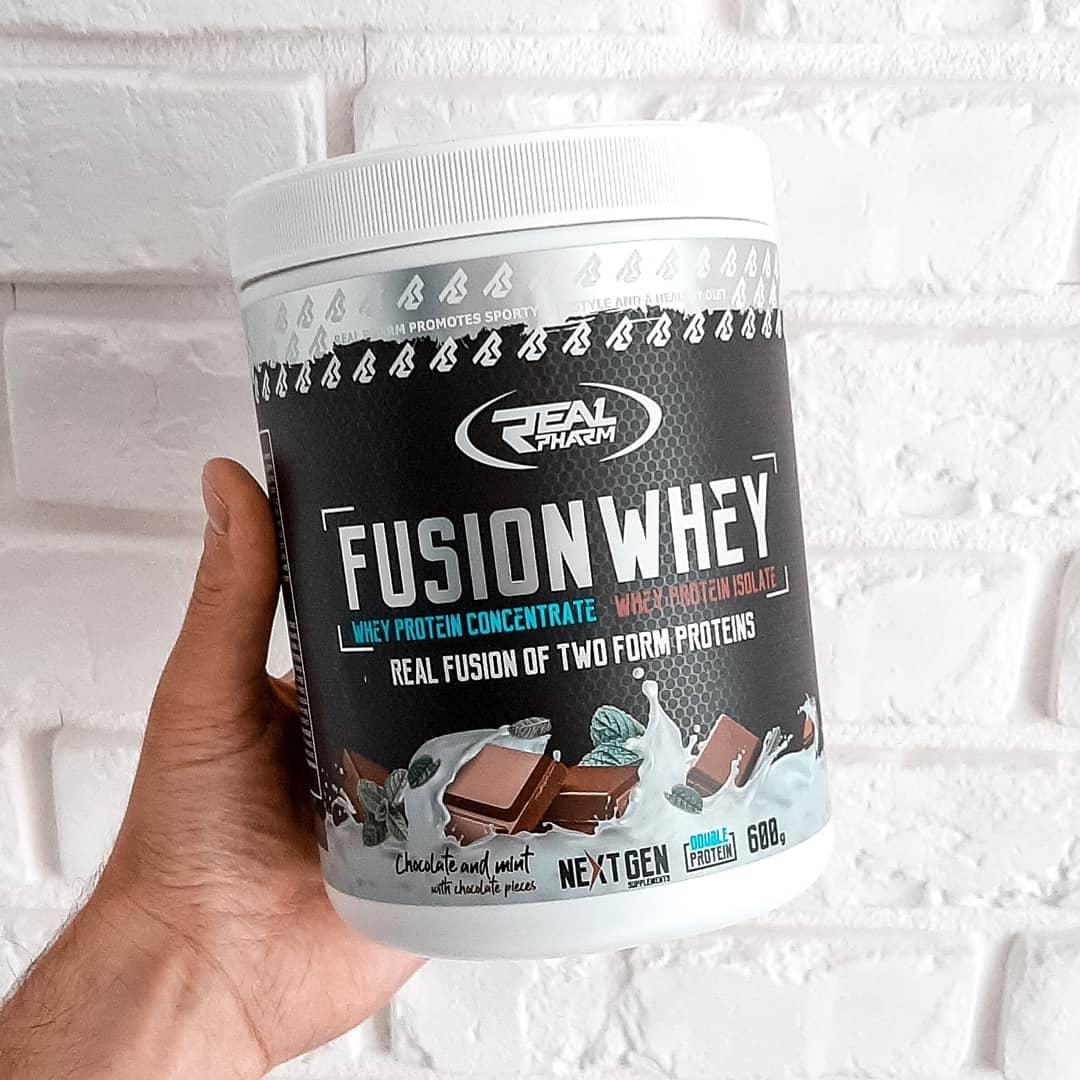 Fusion Whey Chocolate-Mint – nowość od Real Pharm!