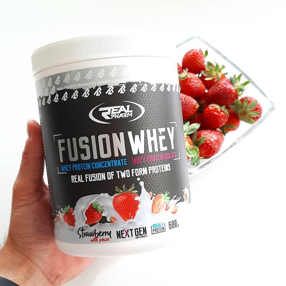 Fusion Whey Strawberry – jak Jogobella truskawkowa!