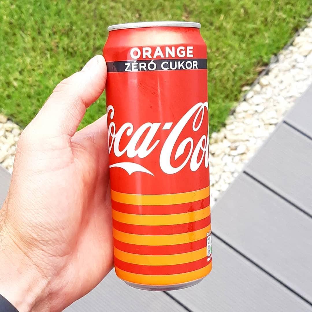 Coca Cola Orange Zero Sugar
