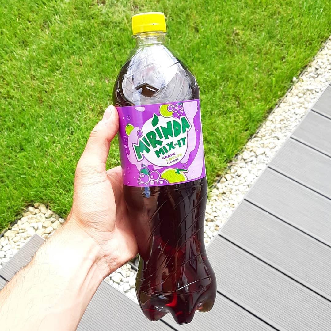 Mirinda Zero Grape Melon – nowość z Biedronki!