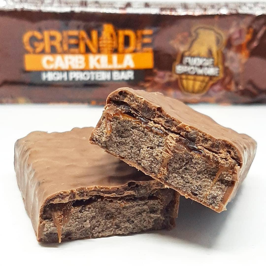 grenade carb killa fudge brownie