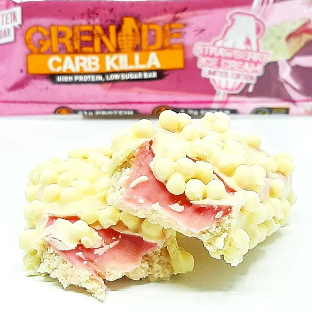 Grenade Carb Killa Strawberry Ice Cream – nowość!