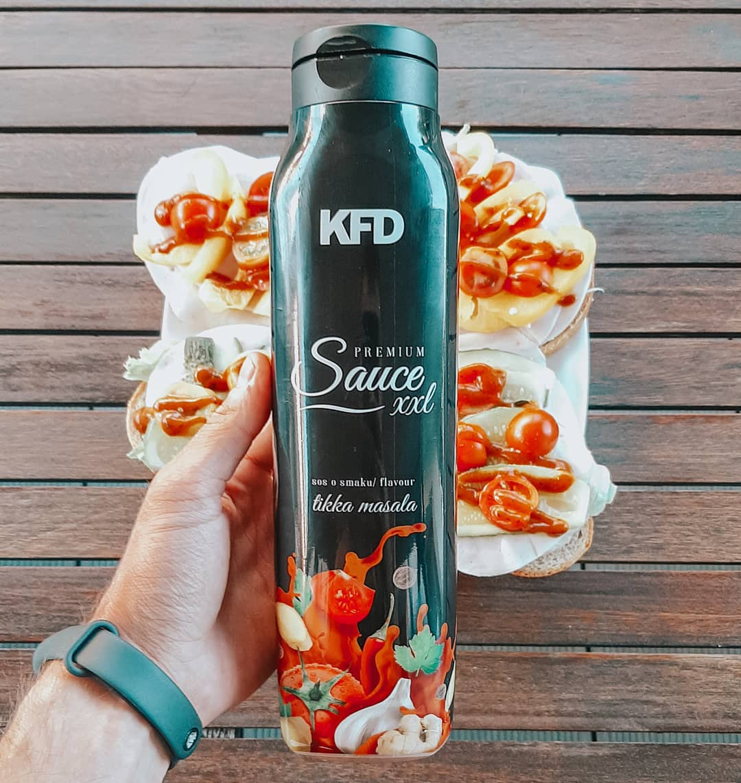 KFD Sauce Zero Tikka Masala – test nowego sosu!