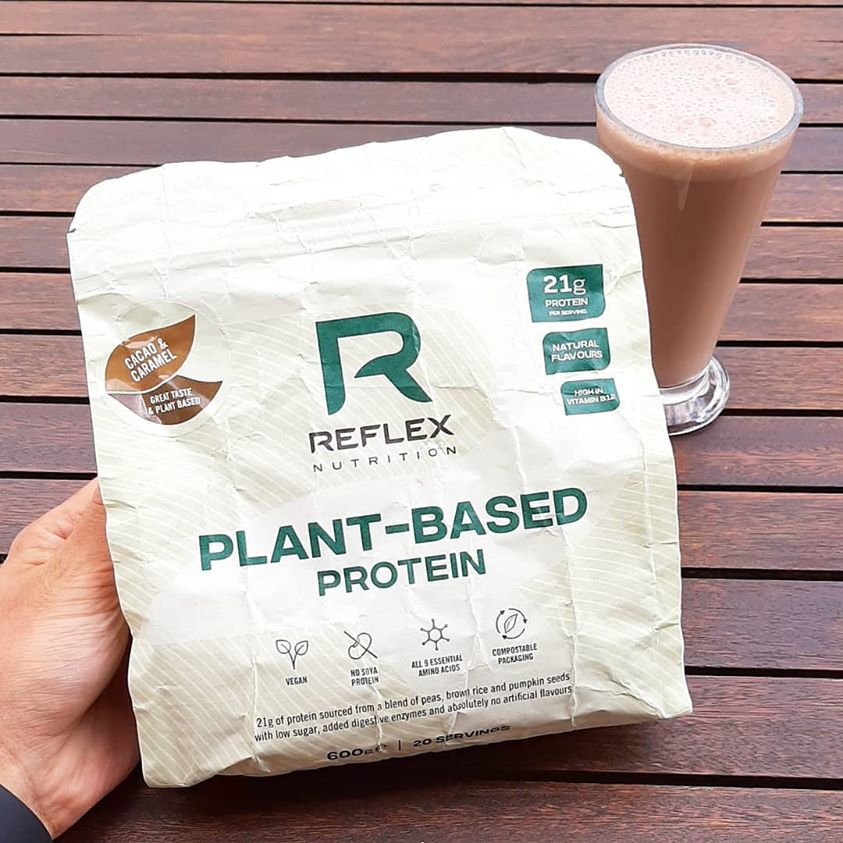 REFLEX NUTRITION PLANT BASED NUTRITION COCOA & CARAMEL