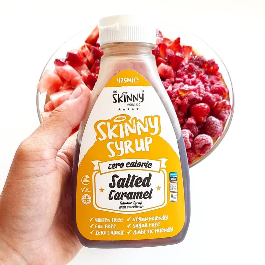 Skinny Syrup Salted Caramel – lepszy od 6paka?