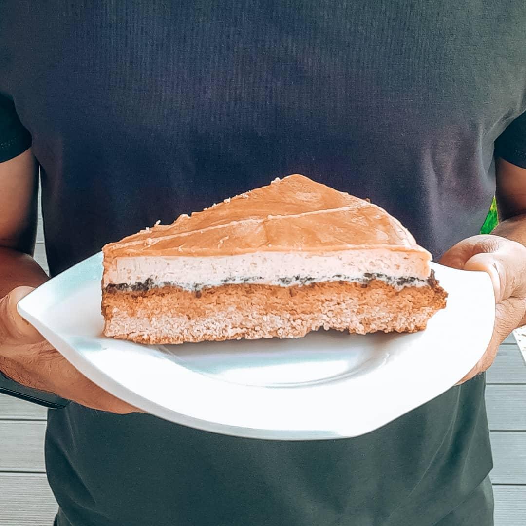 Fit Cake Twix Słony Karmel – test nowego ciasta!