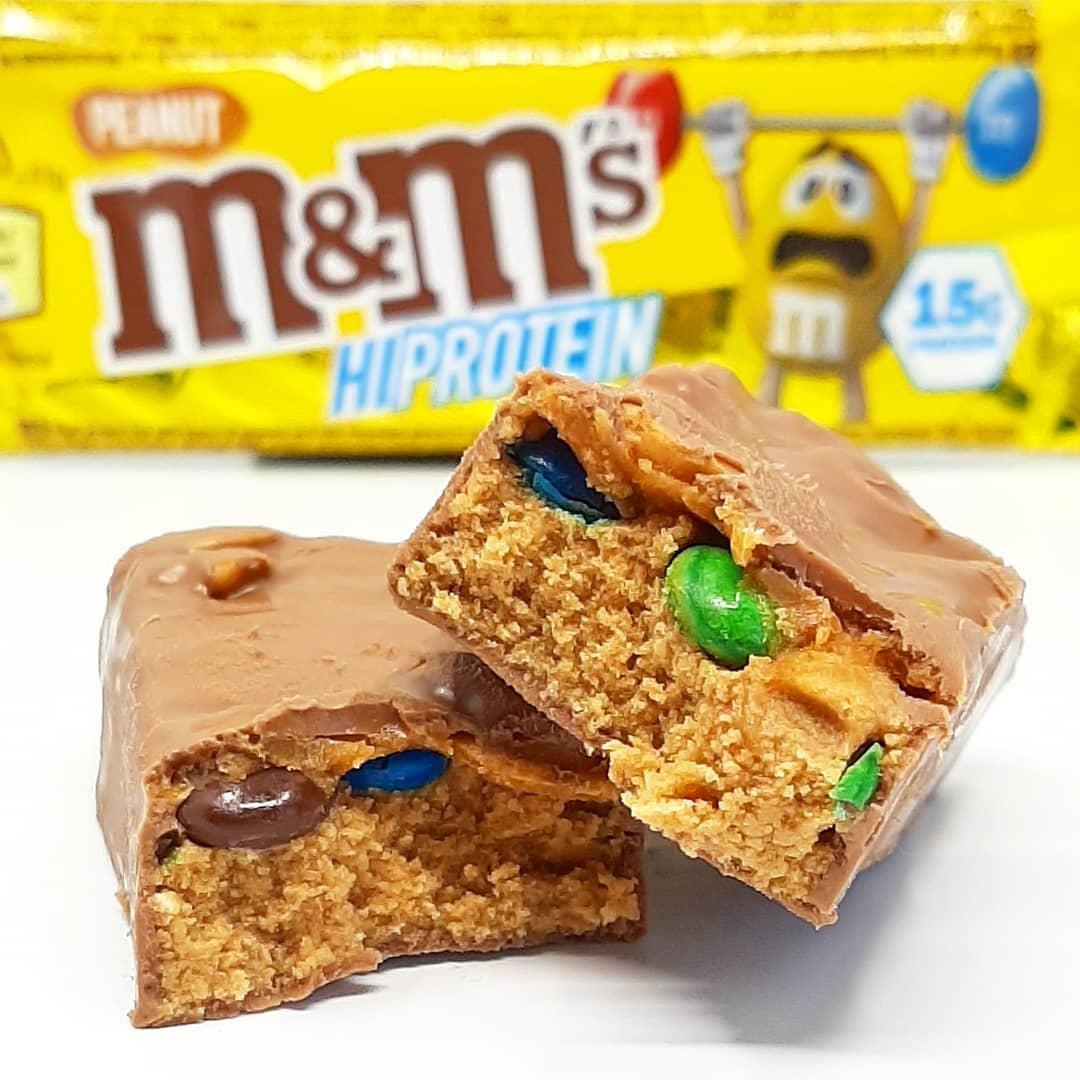 M&M's HiProtein Bar Peanut – lepszy od czekolady?