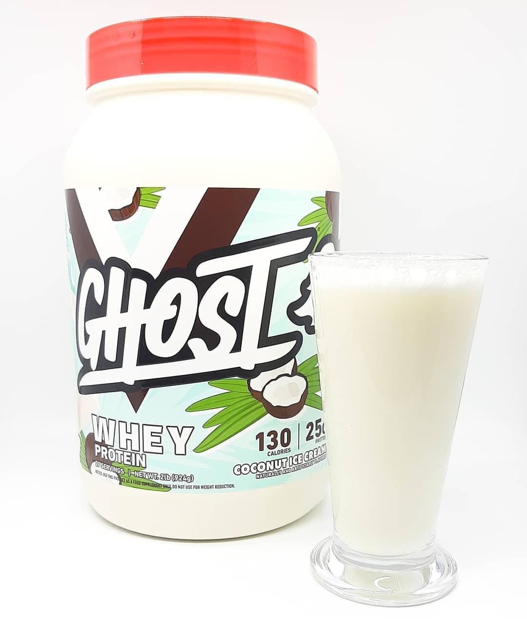 Ghost Coconut Ice Cream – limitowany smak białka!