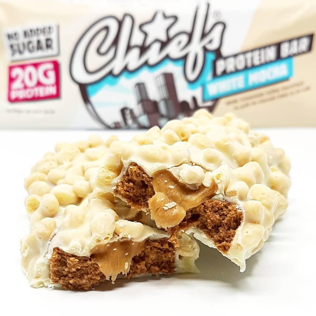 Chief's Protein Bar White Mocha – test ostatniego smaku!