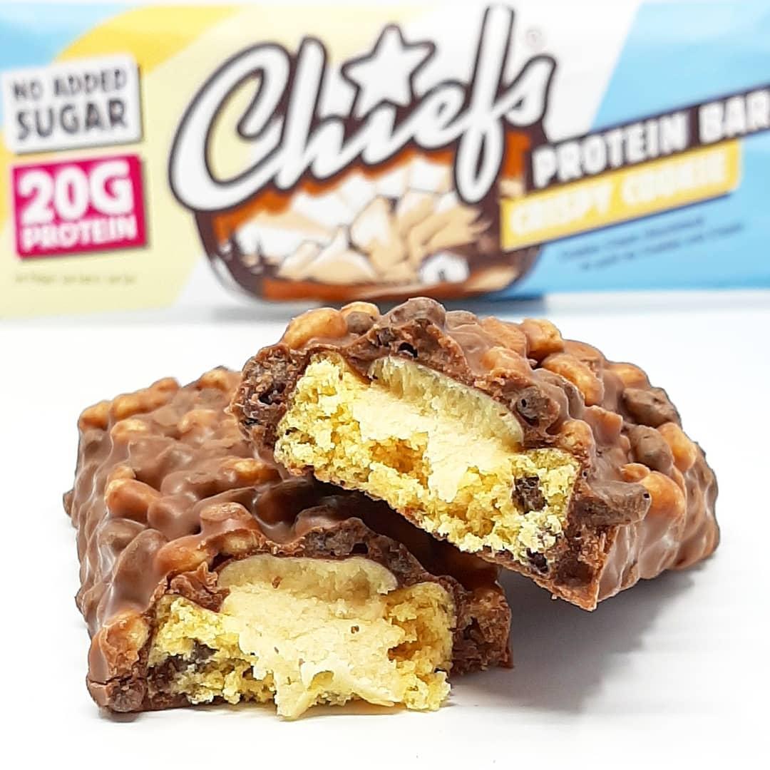 Chief's Bar Crispy Cookie – recenzja drugiego smaku!