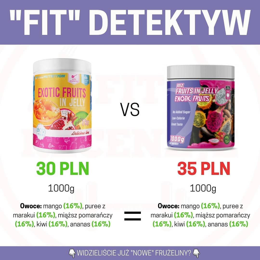 Porównanie frużelin bez cukru – SFD vs Muscle Zone