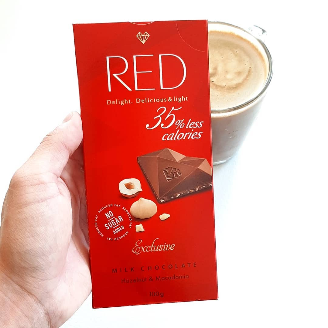 RED Milk Chocolate Hazelnut & Macadamia