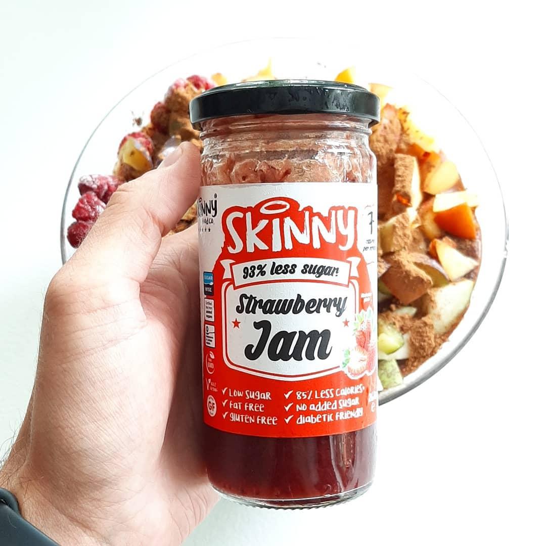 Skinny Food Strawberry Jam