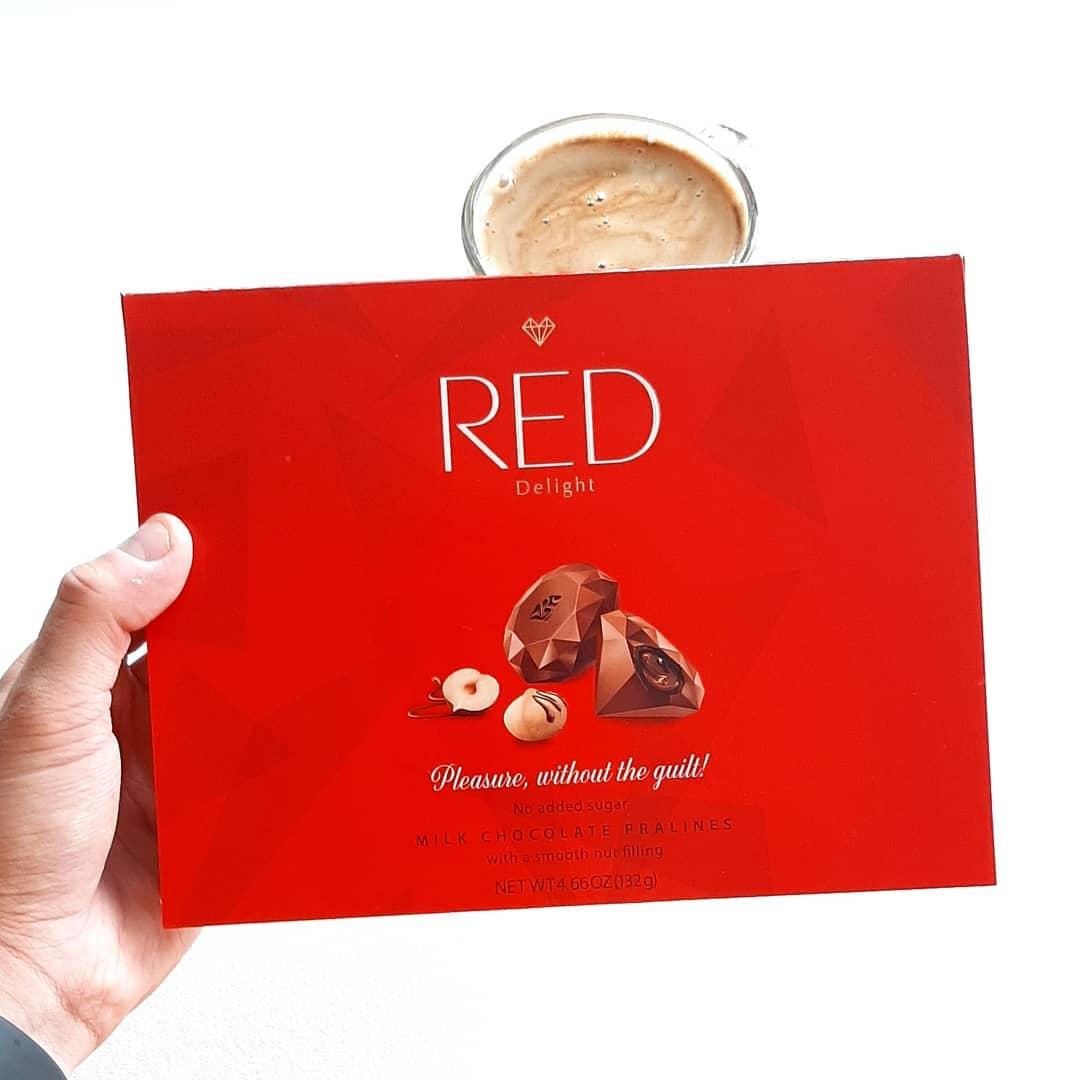 RED Delight Praliny Orzechowe – tylko 43 kcal w jednej!