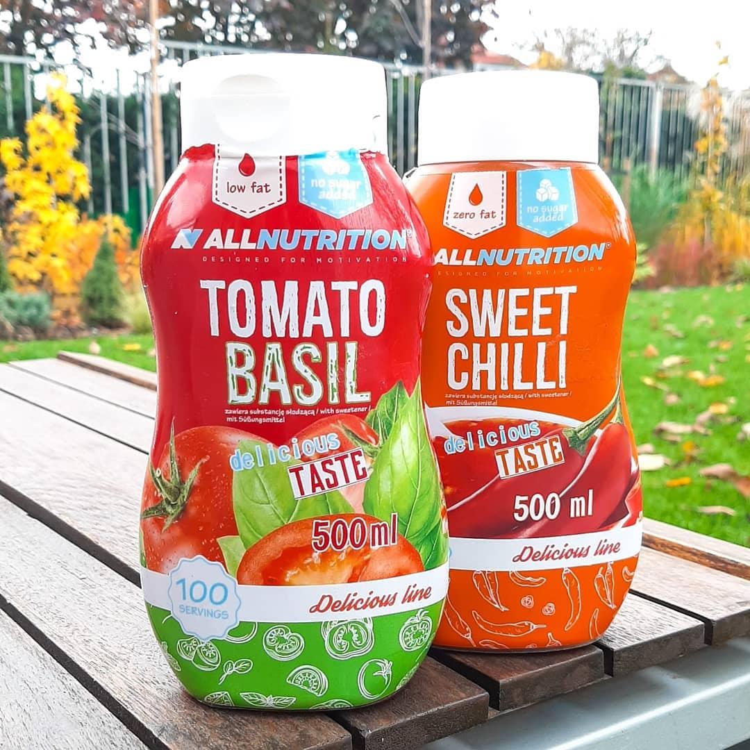 All Nutrition Classic Sauce – tomato basil i sweet chilli!