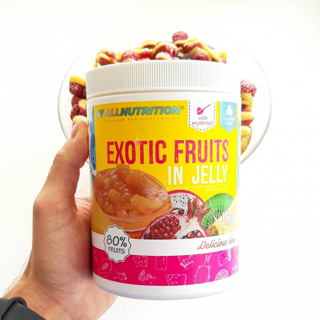 All Nutrition Exotic Fruits in Jelly – mix 5 owoców!