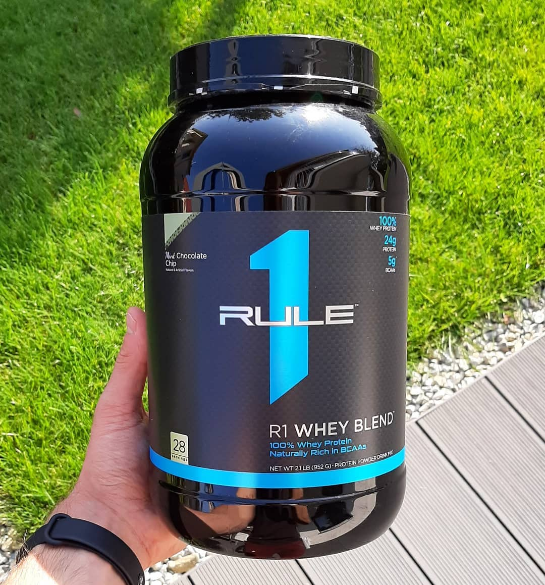 Rule1 Whey Blend Mint Chololate Chip – recenzja!