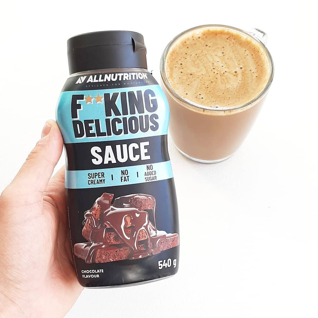 All Nutrition Fitking Delicious Sauce Chocolate – testuję!
