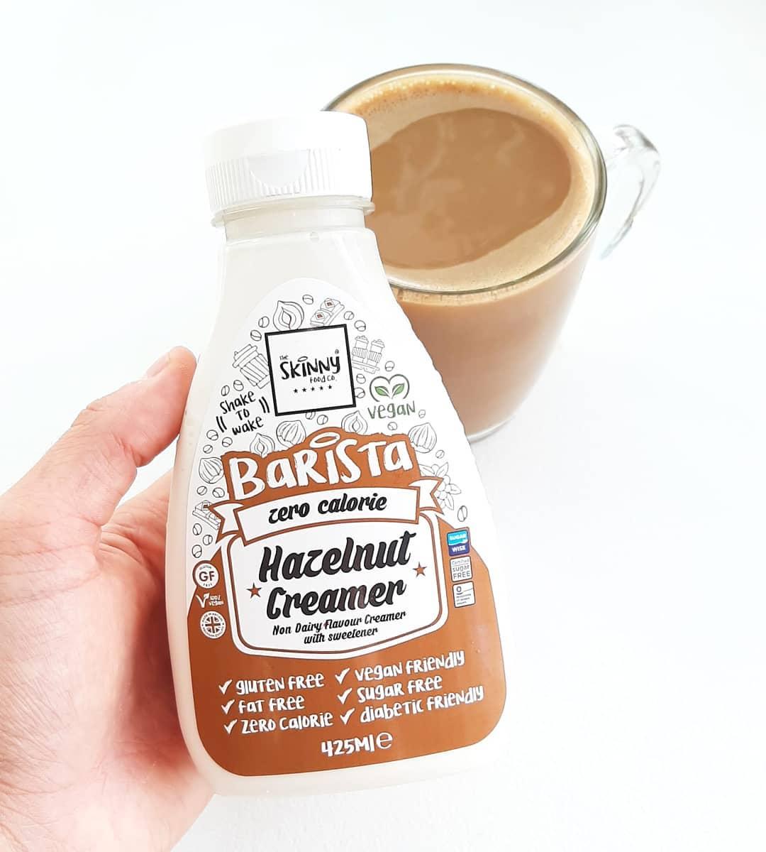 Skinny Food Hazelnut Creamer – zabielacz do kawy!