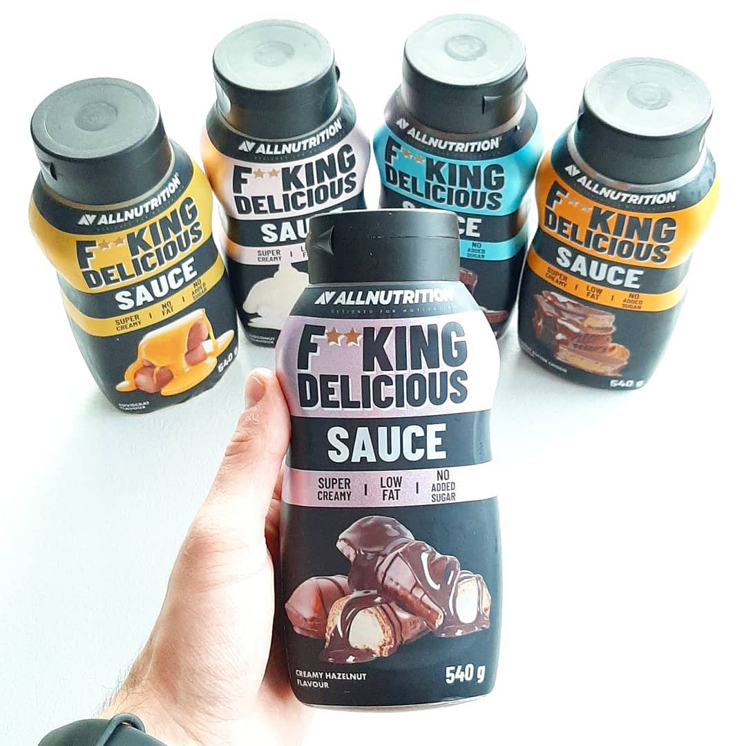 All Nutrition Fitking Delicious Sauce – moja opinia!