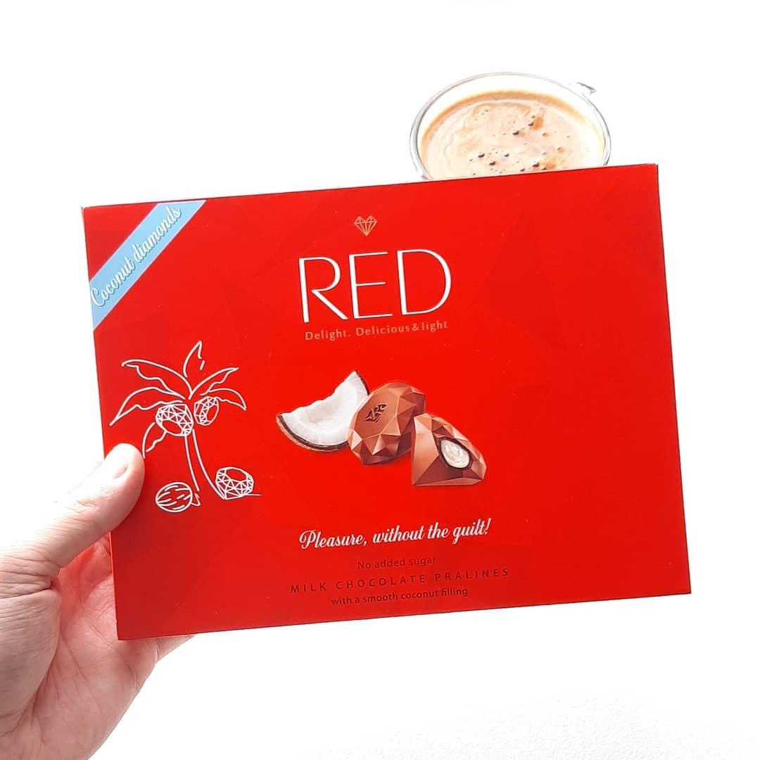 RED Delight Praliny Kokosowe – tylko 43 kcal w sztuce!