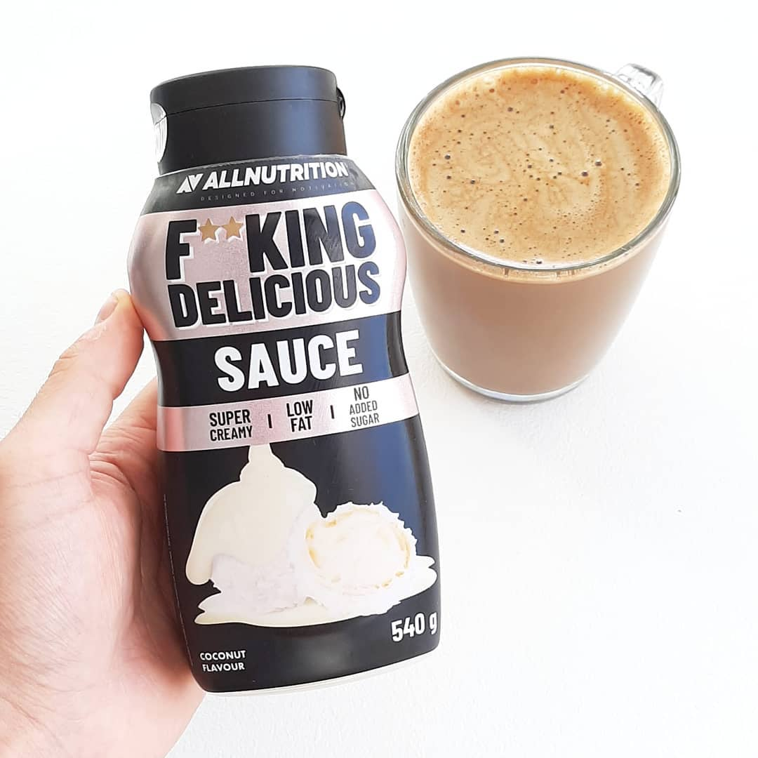 All Nutrition Fitking Delicious Sauce Coconut – test