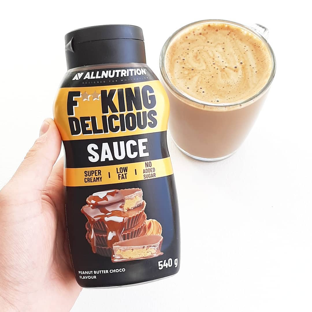 All Nutrition Fitking Delicious Sauce Peanut Butter Choco