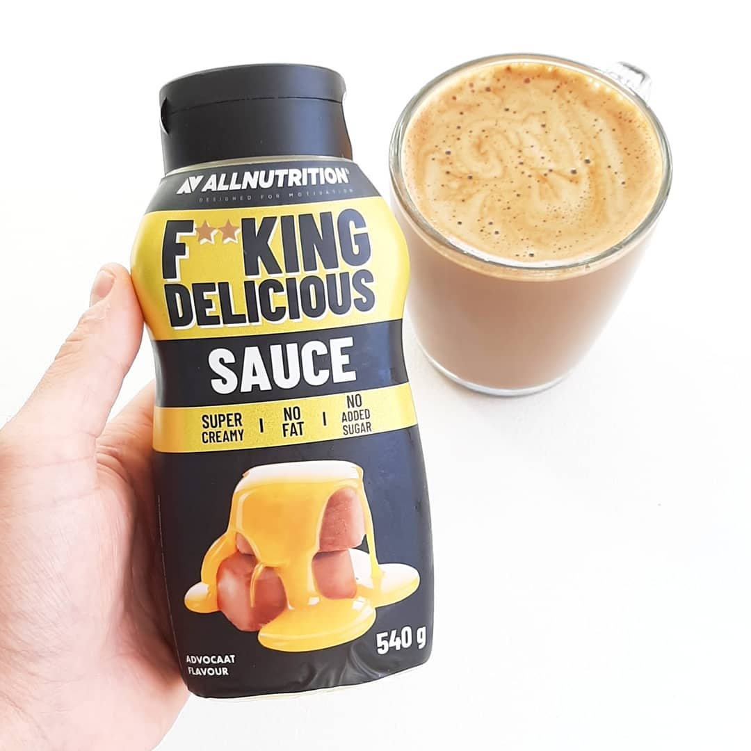 All Nutrition Fitking Delicious Sauce Advocaat