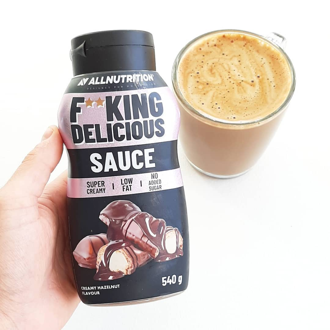 All Nutrition Fitking Delicious Sauce Creamy Hazelnut