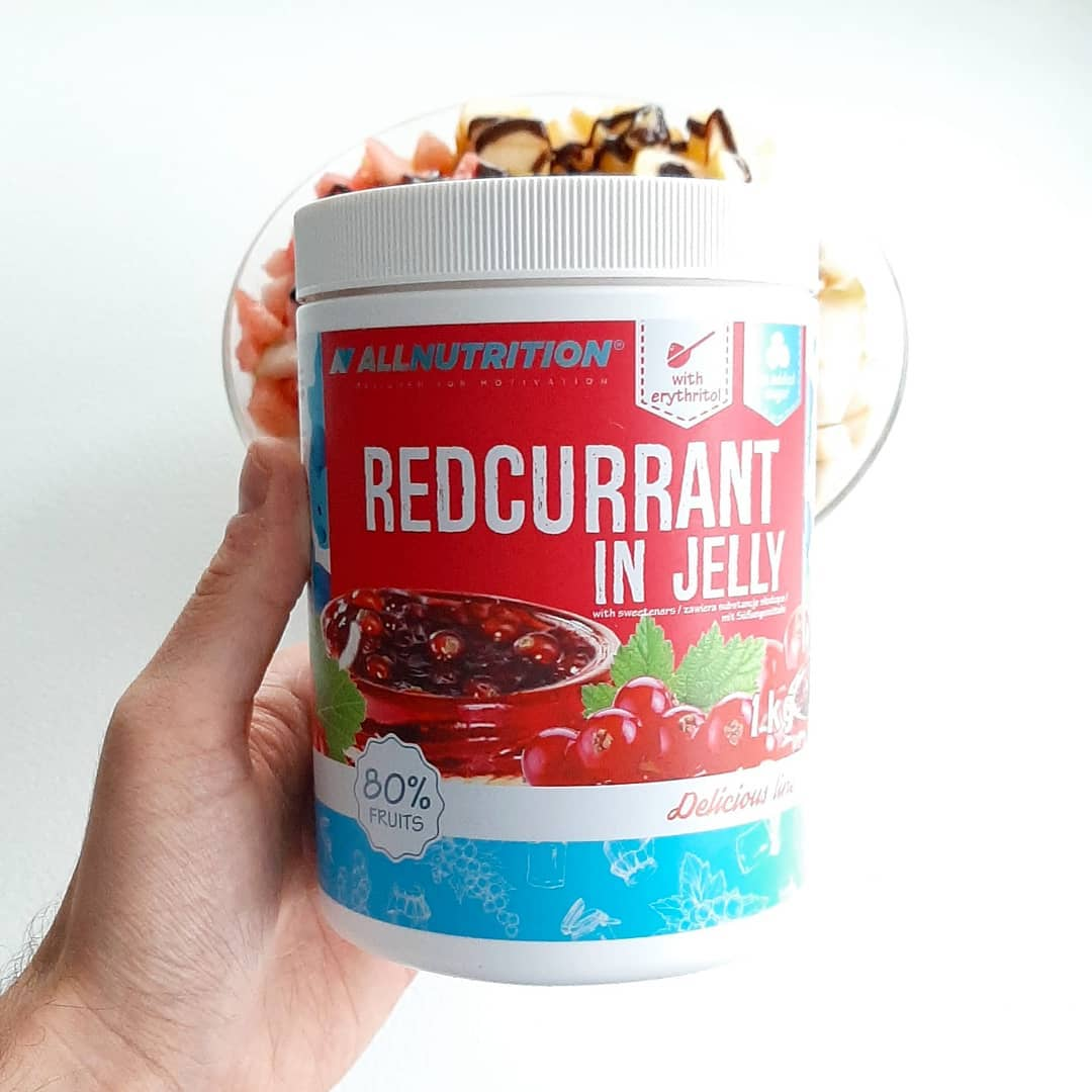 All Nutrition Redcurrant in Jelly – test 8 frużeliny!
