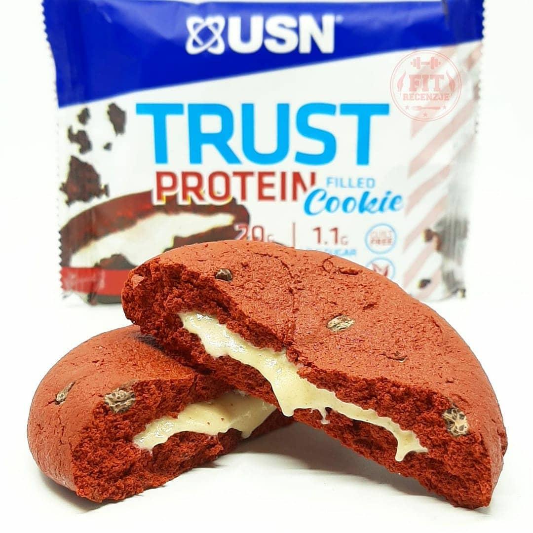 USN Trust Filled Cookie Red Velvet – recenzja!
